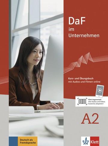 DaF im Unternehmen A2 Studentenboek en Übungsbuch met Audios en Filmen online