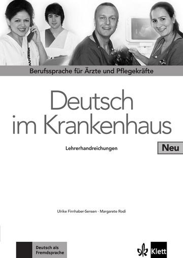 Deutsch im Krankenhaus Neu Lerarenboek