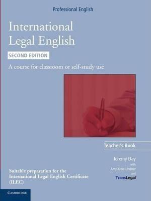 International Legal English Second edition Teacher's Book