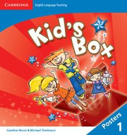 Kid's Box Updated Second edition Level1 Posters (8)