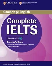 Complete IELTS Bands6.5-7.5C1 Teacher's Book