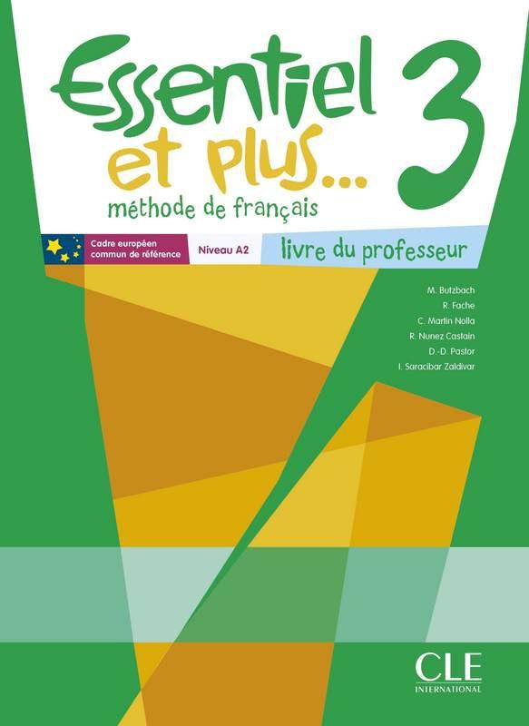 Essentiel et plus... - Niveau 3 - Guide pédagogique + CD