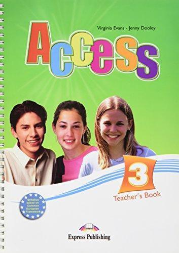 Access 3 Teacher's Book (international)