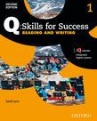 Q Skills For Success Level 1 Reading & Writing Student Book With Iq Online