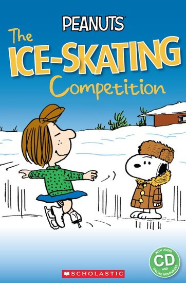 Peanuts: The Ice-skating Competition + audio-cd (Level 3)
