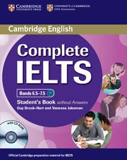 Complete IELTS Bands6.5-7.5C1 Student's Book without answers with CD-ROM