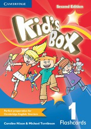Kid's Box Updated Second edition Level1 Flashcards (pack of 103)