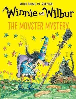 Winnie and Wilbur and the Monster Mystery