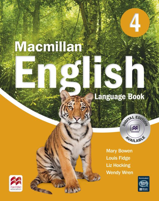 Macmillan English Level 4 Language Book