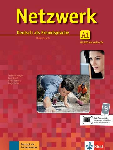 Netzwerk A1 Studentenboek met 2 DVDs en 2 Audio-CDs