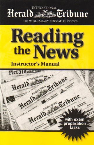 Reading The News Instructor's Manual