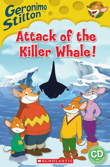 Geronimo Stilton: Attack of the Killer Whale + audio-cd