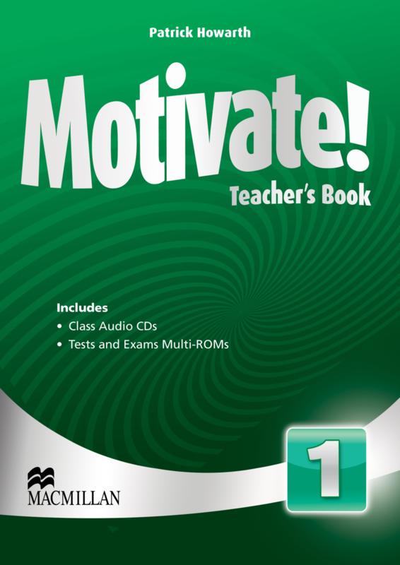 Motivate! Level 1 Teacher's Book & Audio CD & Test CD Pack