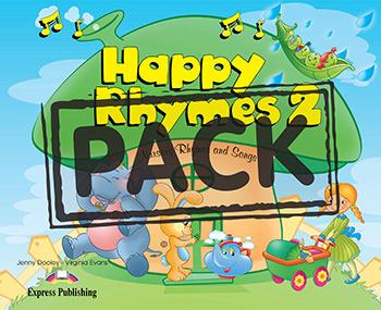HAPPY RHYMES 2 PUPIL'S PACK 2 (CD & DVD PAL)