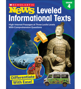 Scholastic News Leveled Informational Texts: Stage 4