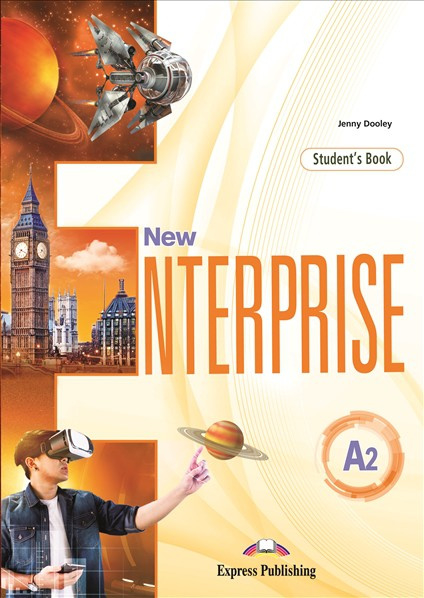 New Enterprise A2 Student's Book With Digibook App