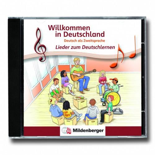Willkommen in Deutschland - Lieder bij het Deutschlernen Audio-CD