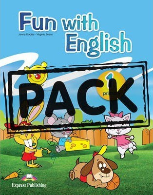 Fun With English 1 Primary Student's Pack With Multi-rom