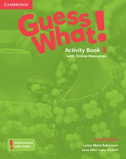 Guess What! Level3 Activity Book with Online Resources
