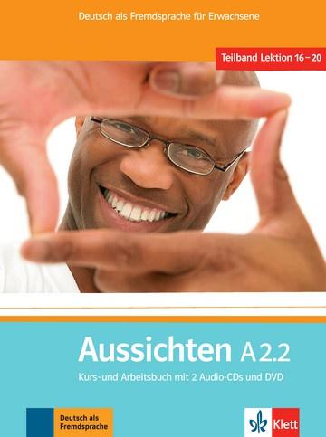 Aussichten A2.2 Studentenboek/Werkboek met 2 Audio-CDs en DVD