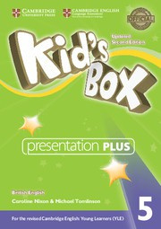 Kid's Box Updated Second edition Level5 Presentation Plus DVD-ROM