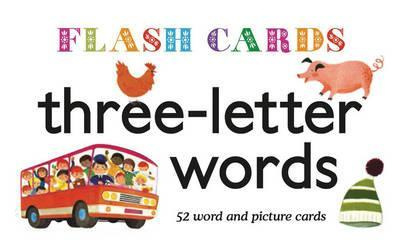 Flashcards Three-Letter Words