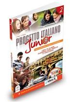 Progetto italiano Junior 2 SB + WB + Audio CD + DVD