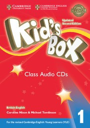 Kid's Box Updated Second edition Level1 Class Audio CDs (4)