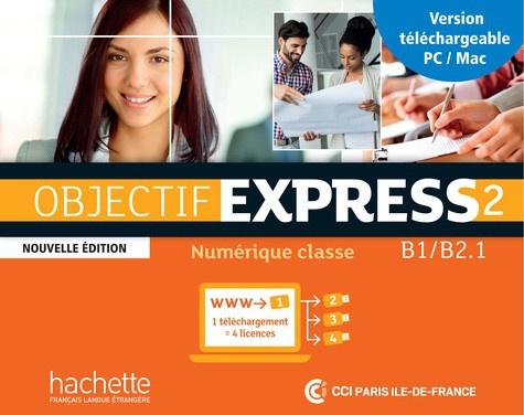 Objectif Express 2 - Manuel numérique, carte de téléchargement enseignant
