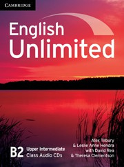 English Unlimited UpperIntermediate Class Audio CDs (3)