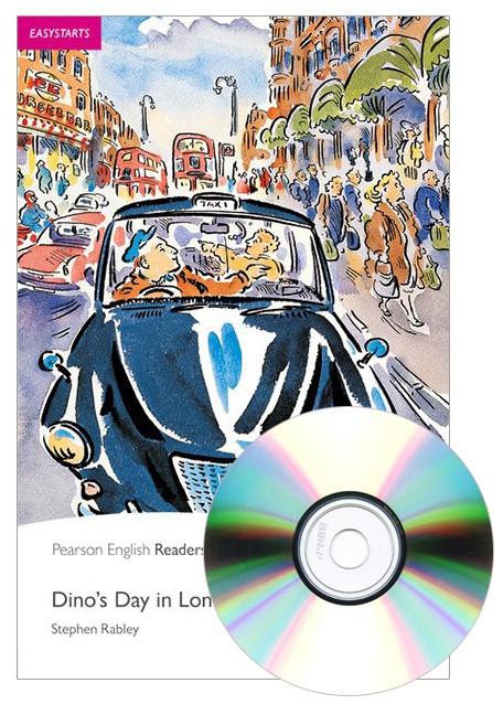 Dino's Day in London Book & CD Pack