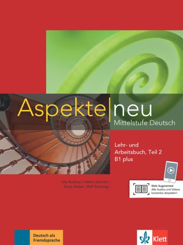 Aspekte neu B1 plus Studentenboek en Werkboek met Audio-CD Teil 2