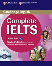 Complete IELTS Bands5-6.5B2 Student's Book with answers with CD-ROM