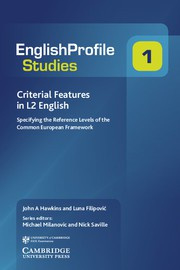 Criterial Features in L2 English Paperback