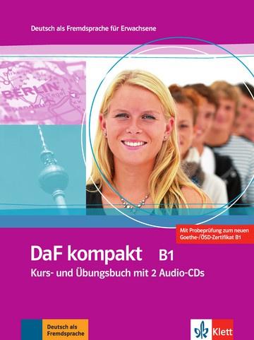 DaF kompakt B1 Studentenboek en Übungsbuch + 2 Audio-CDs