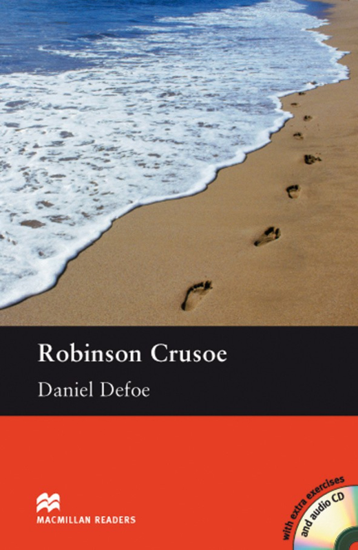 Robinson Crusoe Reader with Audio CD