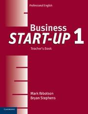 Business Start-up Level1 Teacher's Book