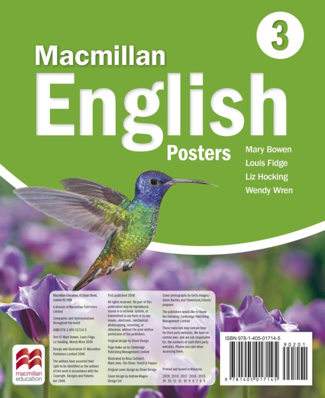 Macmillan English Level 3 Posters