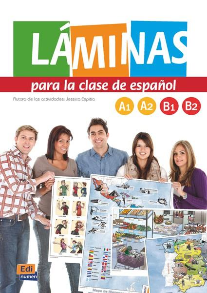Láminas para la clase de español +CD-ROM