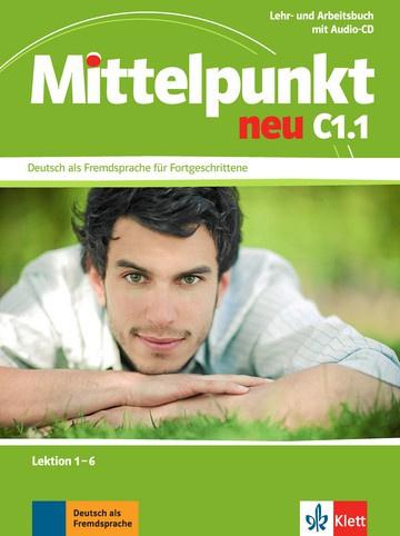 Mittelpunkt neu C1.1 Studentenboek en Werkboek Les 1-6 + Audio-CD bij het Werkboek