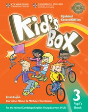 Kid's Box Updated Second edition Level3 Pupil's Book