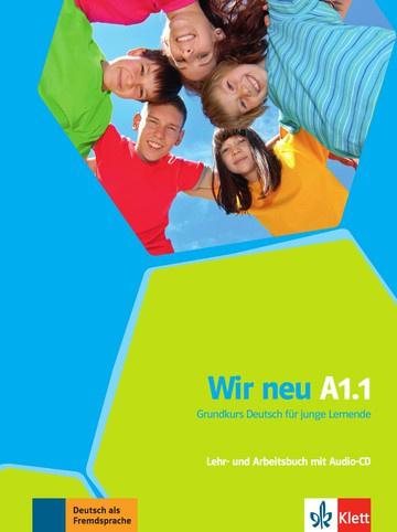 Wir neu A1.1 Studentenboek en Werkboek met Audio-CD