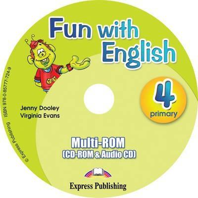 Fun With English 4 Primary Multi Cd-rom (international)