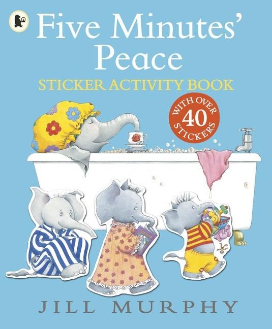 Five Minutes' Peace Sticker Activity Book (Jill Murphy)