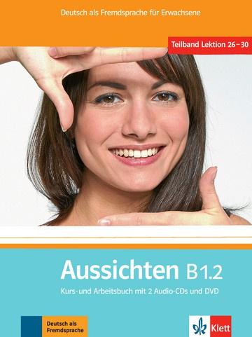 Aussichten B1.2 Studentenboek en Werkboek met 2 Audio-CDs en DVD