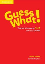 Guess What! Levels1-2 Teacher's Resource and Tests CD-ROM