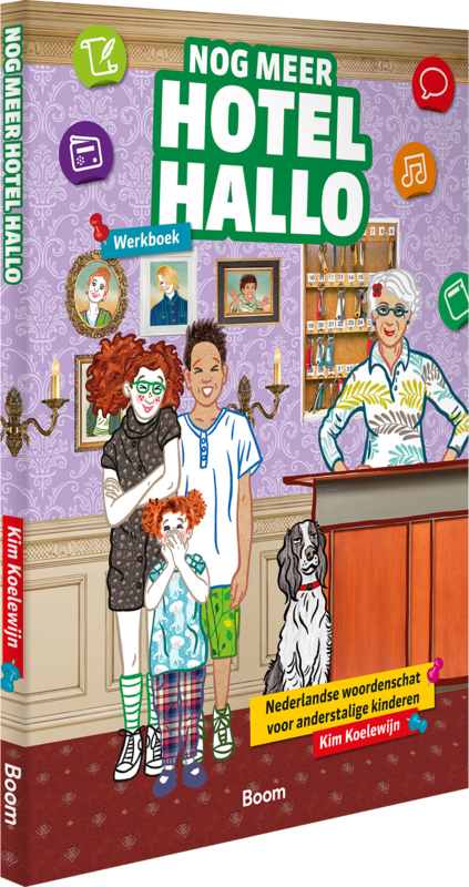 Nog meer Hotel Hallo - Werkboek
