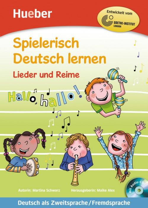Lieder en Reime Buch met eingelegter Audio-CD
