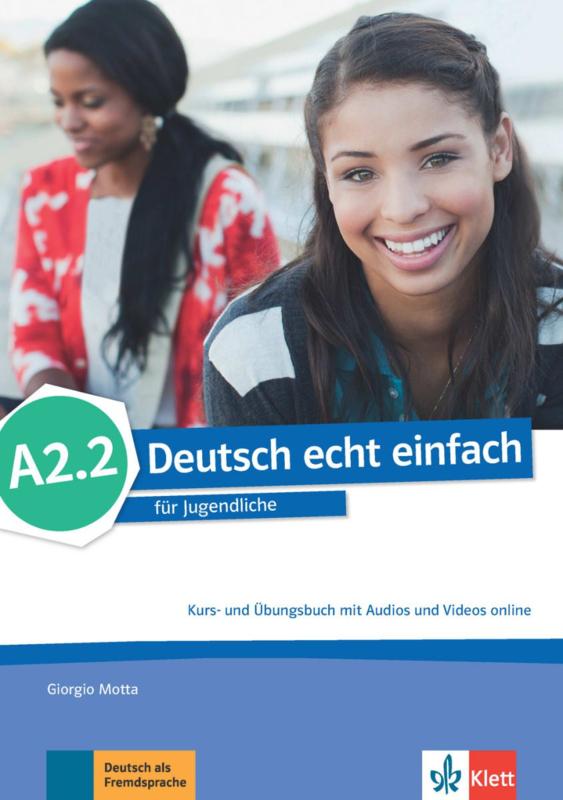 Deutsch echt einfach A2.2 Studentenboek en Oefenboek met Audio en Video online