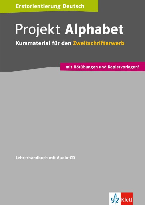 Projekt Alphabet Lerarenboek met Audio-CD